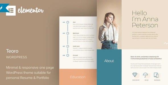 Tema Teoro - Template WordPress