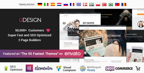 Tema Udesign - Template WordPress