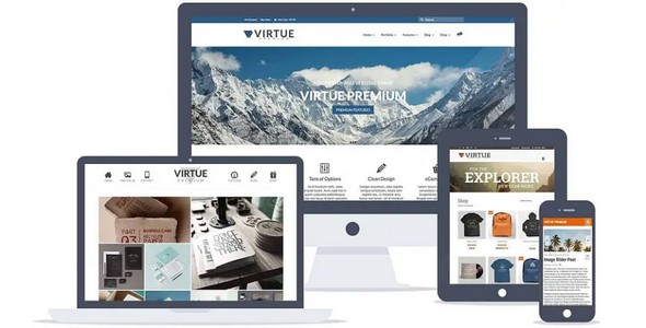 Tema Virtue Premium - Template WordPress