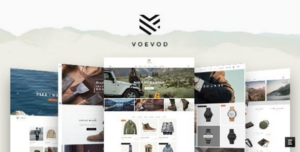 Tema Voevod - TEmplate WordPress