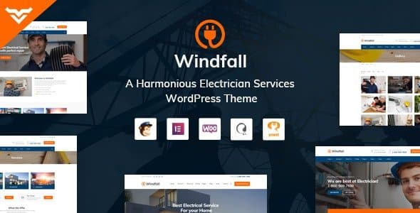Tema Windfall - Template WordPress