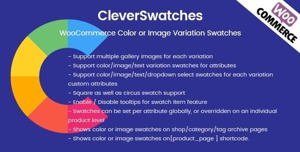 Plugin CleverSwatches - WordPress