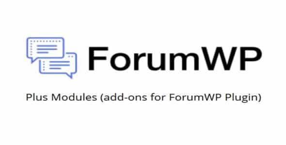 Plugin ForumWP Plus Modules - WordPress