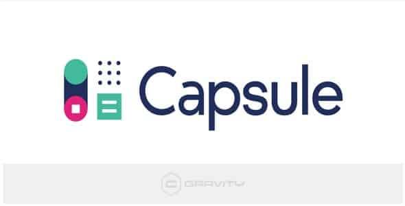 Plugin Gravity Forms Capsule Crm Add-On - WordPress