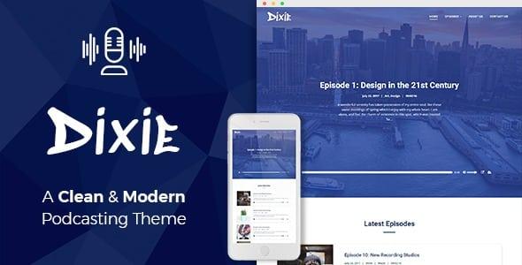 Tema Dixie - Template WordPress