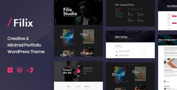 Tema Filix - Template WordPress