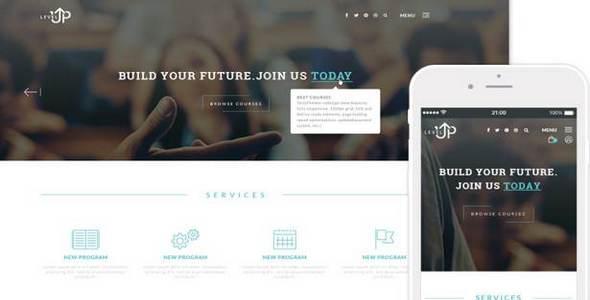 Tema LevelUp TeslaThemes - Template WordPress
