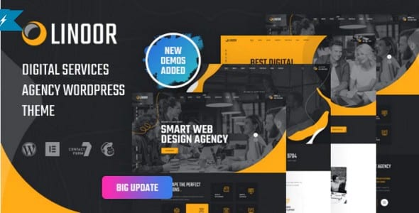 Tema Linoor - Template WordPress