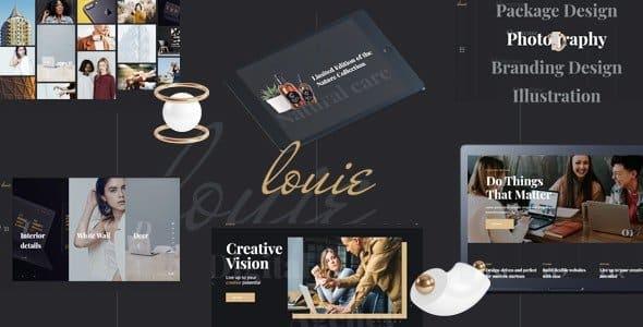 Tema Louie - Template WordPress