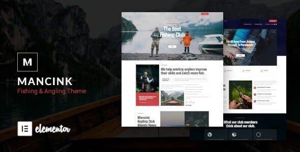 Tema Mancink - Template WordPress