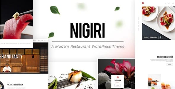 Tema Nigiri - Template WordPress