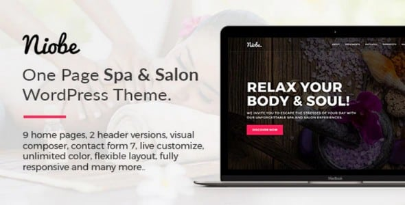 Tema Niobe Ovatheme - Template WordPress