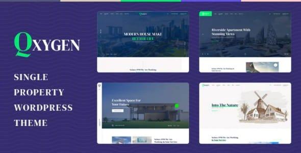 Tema Qxygen - Template WordPress