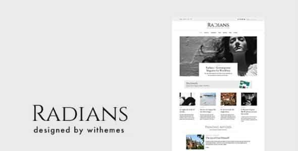 Tema Radians - Template WordPress