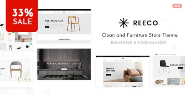 Tema Reeco - Template WordPress