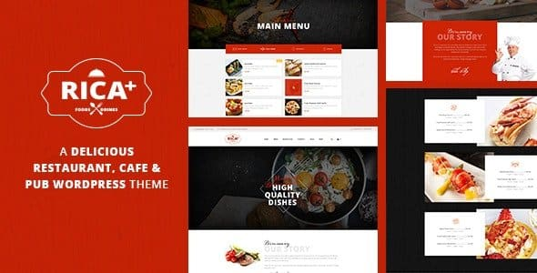 Tema Rica - Template WordPress