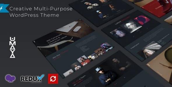Tema Umaya - Template WordPress