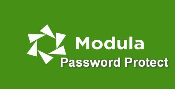 Plugin Modula Pro Password Protect - WordPress