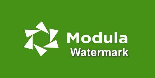 Plugin Modula Pro Watermark - WordPress