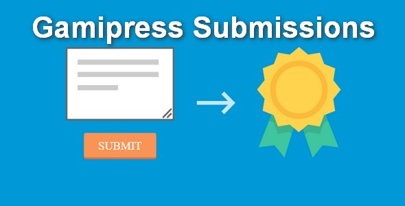 Plugin Gamipress Submissions - WordPress