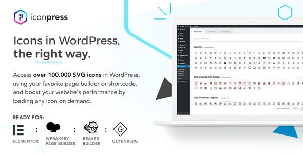Plugin IconPress Pro - WordPress