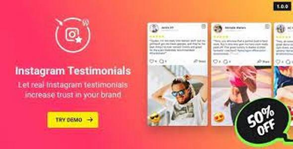 Plugin Instagram Testimonials - WordPress