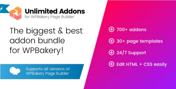 Plugin Unlimited Addons for WPBakery Page Builder - WordPress