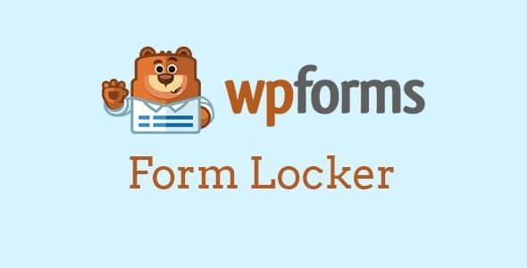 Plugin WpForms Form Locker Addon - WordPress