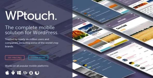 Plugin WpTouch Pro - WordPress