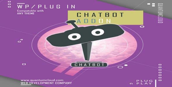 Plugin WpBot White Label ChatBot AddOn - WordPress