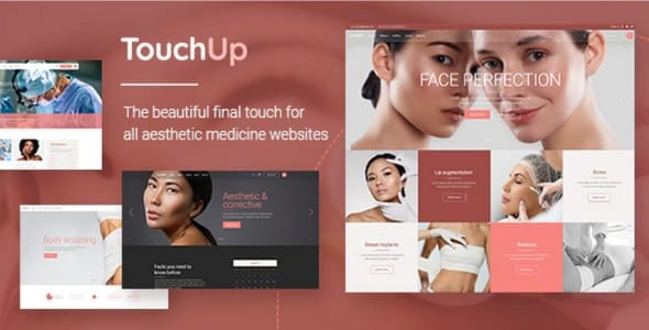 Tema TouchUp - Template WordPress