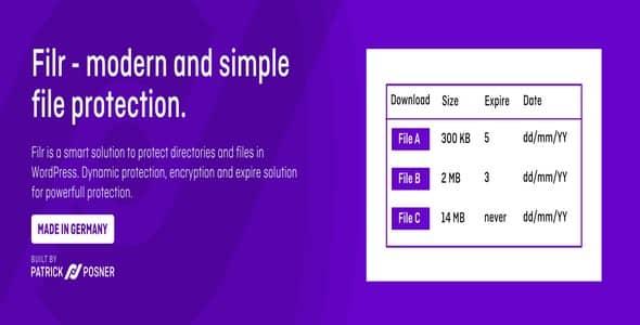 Plugin Filr Premium - WordPress