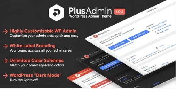 Plugin Plus Admin Theme - WordPress