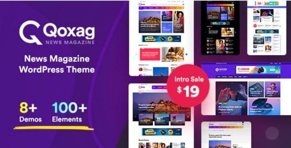 Tema Qoxag - Template WordPress