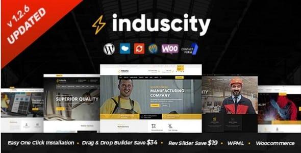 Tema Induscity - Template WordPress