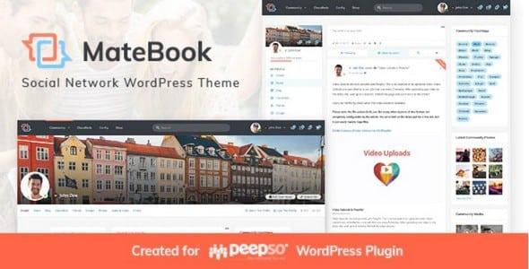 Tema Matebook - Template WordPress