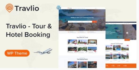 Tema Travlio - Template WordPress