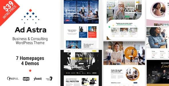 Tema Ad Astra - Template WordPress