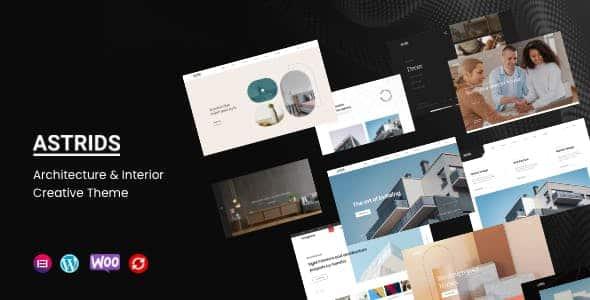 Tema Astrids - Template WordPress